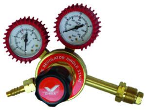 Single Stage Acetylene Regulator Brass Bonnet – EN2503