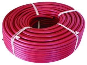 Acetylene Rubber Hose (Red)
