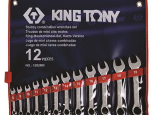 12PC. SHORT COMBINATION WRENCH METRIC SET