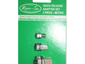 ADAPTER SET 1/4″, 3/8″ AND 1/2″