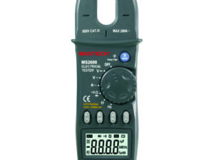 Clamp Meter 200A DC 1000V / AC 600V Open Clamp
