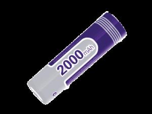 18650 Battery Purple